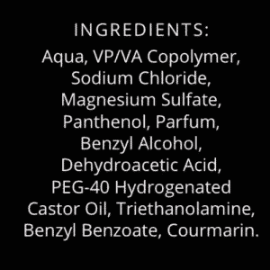 Sea Salt Spray Ingredients 250 ml Meso Men