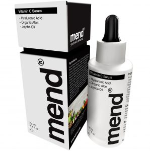 Vitamin-C-Serum bottle by Mend