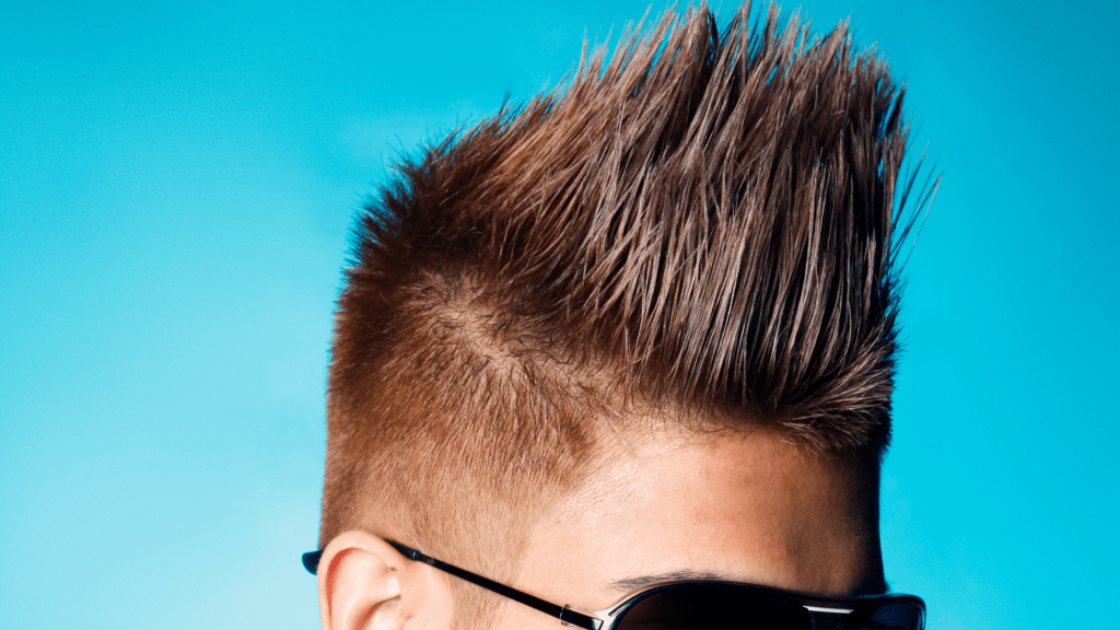 Spikey textured cut