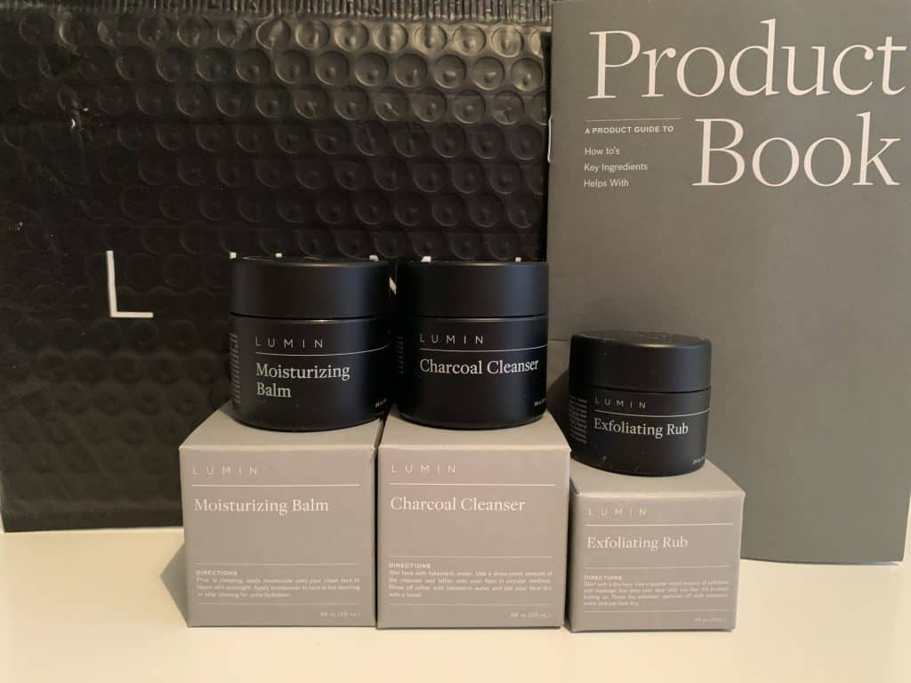 Lumin Skin Care range