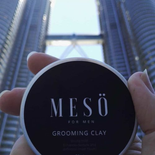 Hair Clay for men by Meso Men